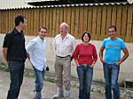 Julien Bideau, Technicien Cultivert Carhaix, Philippe Allioux, TC Hydroclean, Jacques Cosmao, TC Cultivert Quimper-Quimperlé, Laurence et Gilles Plouzennec