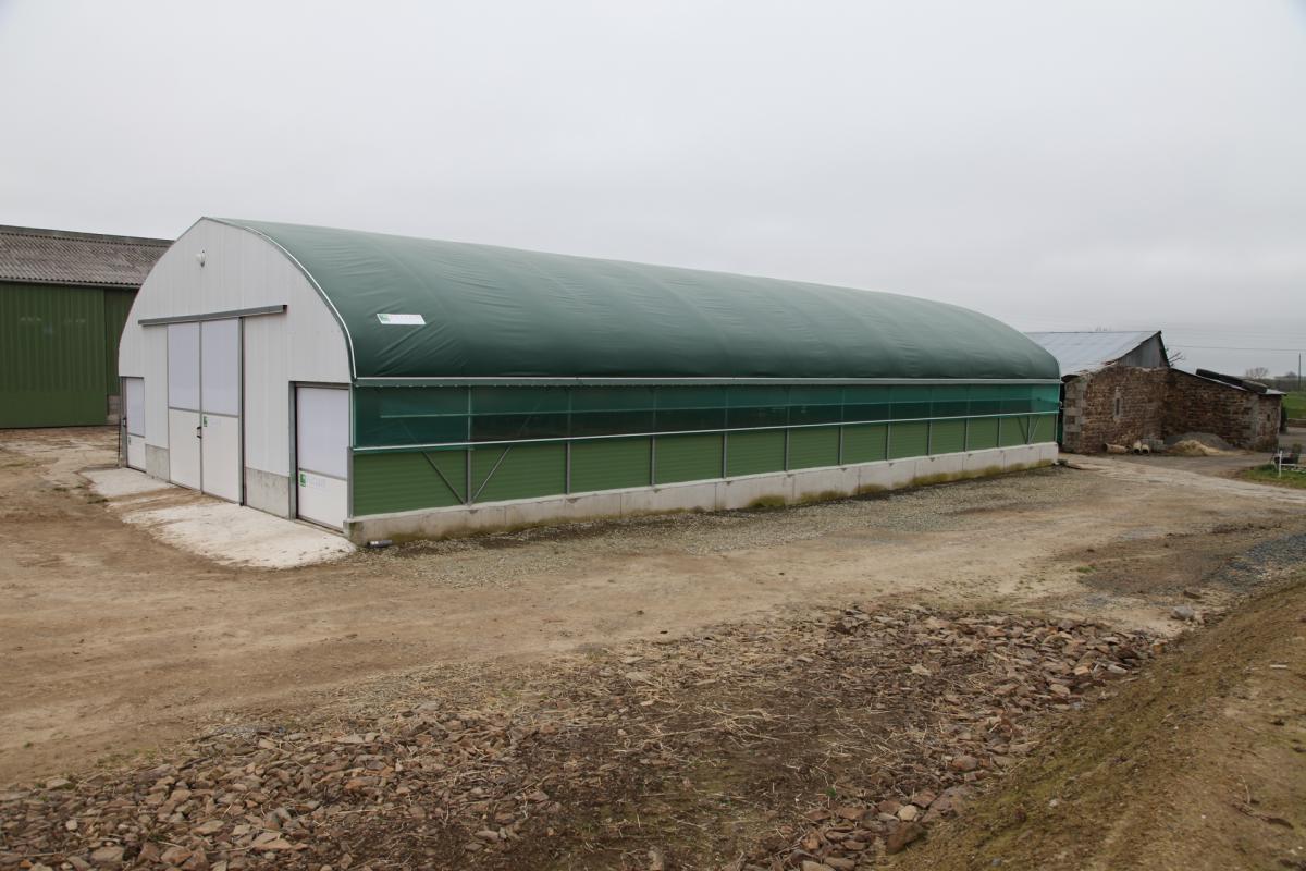 Baches translucides et Brise-vent - Couverture garantie 10 ans pour le tunnel nurserie Cultivert