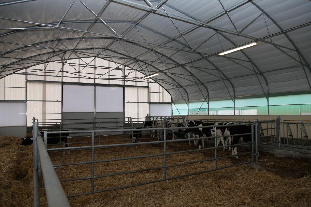 Portails et barrières du tunnel nurserie Cultivert