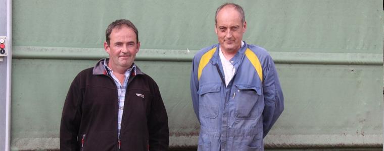 Ronan Lamour et Pierre Leroy, technicien Cultivert