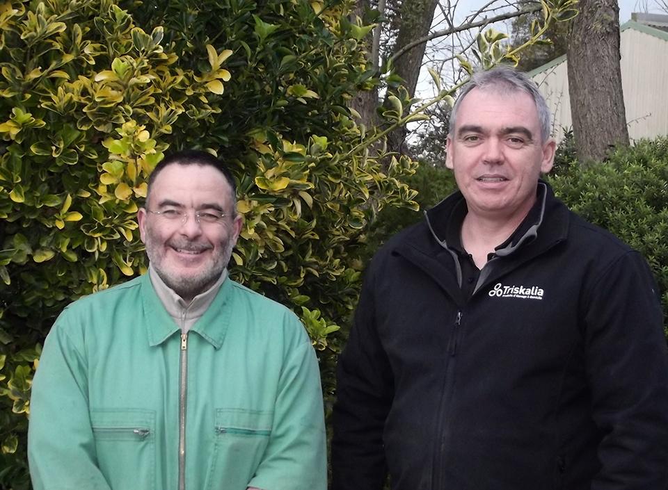 David Le Jeune et Yoann Le Hénaff : « Le Kovex® Foam System est un distributeur de mousse désinfectante simple et pratique à utiliser ».