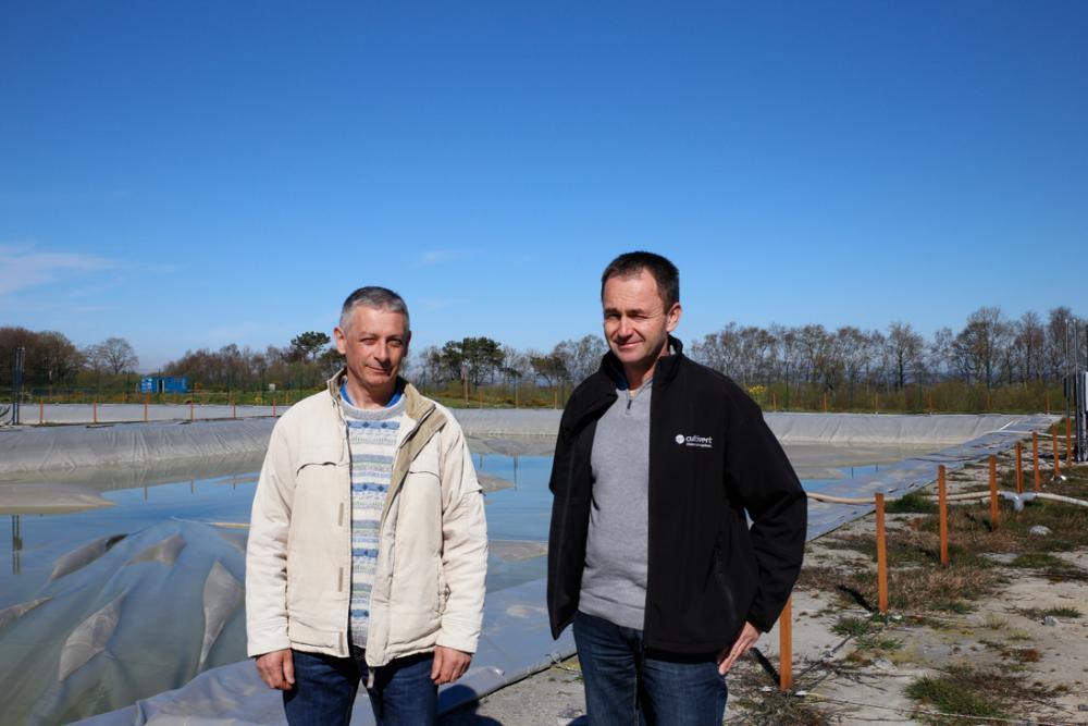 lagunes de stockage cultivert