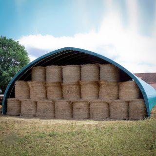 Illustration Tunnel de stockage ou d'élevage