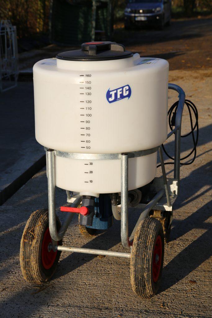 chariot à lait